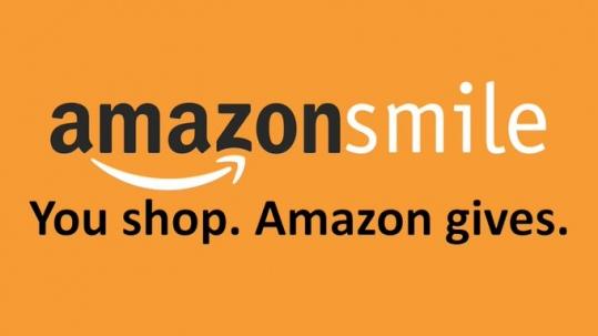 amazon smile. you shop. amazon gives